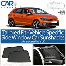 VW Volkswagen Polo 5dr 2017> CAR SHADES UK TAILORED UV SIDE WINDOW SUN BLINDS