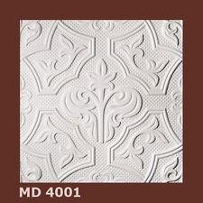 1m² Deckenplatten Styroporplatten Decorplatten 10-15mm  -Neu-  MD 4001