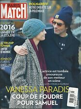 Paris Match Magazine Vanessa Paradis Donald Trump Monaco Kathleen Kennedy 2016