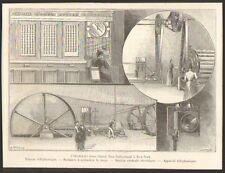 NEW-YORK HOTEL NEW-NETHERLAND IMAGE GRAVURE 1894