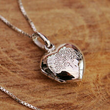Sterling Silver Love Hearts Chain Fine Necklaces & Pendants