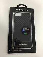 Mercedes-Benz AMG custodia Cover per iPhone 7 nero/argento/Carbonio - TOP