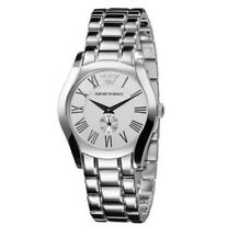 Emporio Armani AR0648 Classic Analog Stainless Steel Womens Watch 50M WR
