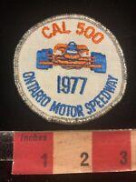 Vintage Racing 1977 CAL 500 Ontario Motor Speedway Car Race Patch 93YK