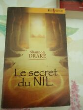 SHANNON DRAKE (HEATHER GRAHAM)-  LE SECRET DU NIL - BEST SELLERS 309