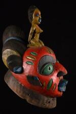 13602 A Big African Gelede Helm Mask Nigeria