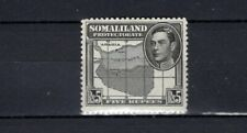Somaliland Protectorate. 1938. GVI. A mint 5 Rupees stamp. MNH.