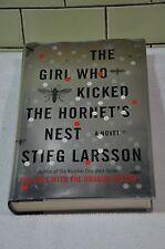 The Girl Who Kicked the Hornet's Nest  A Novel Stig Larsson HC/DJ 1st US Ed.