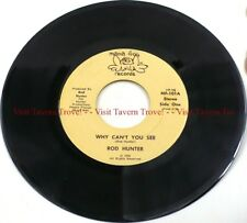 "Rare New Mint 1976 NORTH CAROLINA Rod Hunter - Why Can't You See 7"" 45"