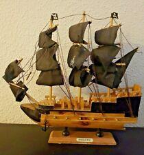 Maquette de bateau pirate, récent