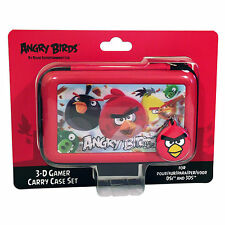 DSI 3DS CASE NINTENDO ANGRY BIRDS Gioco Rosso Holder CARRY copertura Set accessori ba