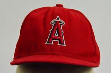 California Anheim Angels MLB Red Baseball Cap Hat 59Fifty New Era 6 3/8