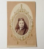 CDV Photo Antique Photo Susquehanna PA Frank Kirby Vintage Photograph