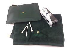 Rolex Golf Ball Pitch Bag Beauty Asciugamano Kit Official Completo Raro !!