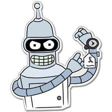 """Futurama Bender Vynil Car Sticker Decal  2.5"""""""