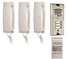 Sprechanlage Türsprechanlage Gegensprechanlage Klingelanlage Set Türklingel LED