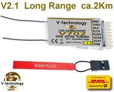 Empfänger V702 für DSMX  DSM2 Spektrum  ca.1800m RX Full Range Receiver.  G183