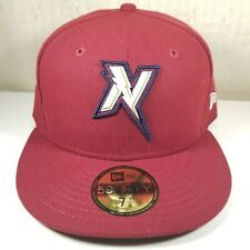 New Era Northwest Arkansas Naturals Road 59FIFTY Fitted Hat Size 7-1/2 Cardinal