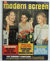Vintage Modern Screen Gossip Collectors Magazine Sophia Loren Valerie Harper 75
