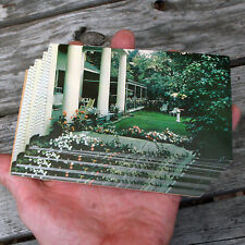 WOODSTOCK VERMONT Postcard Lot 44 Pc White Cupboard Inn