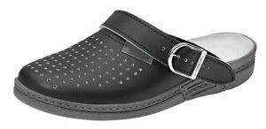 ABEBA Berufsschuhe the Original Clog schwarz 7030 Ob Arbeitsschuhe Schuhe
