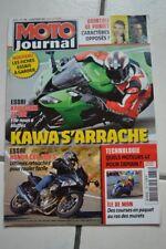 MOTO JOURNAL 1788 KAWASAKI ZX-10 R HONDA CBF 600 F YAMAHA M1 Randy MAMOLA 2007