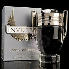 PACO RABANNE INVICTUS Eau De Toilette Men's Cologne  Perfume Parfum 3.4oz 100ml