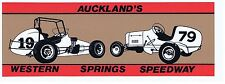 Western Springs '1979 Midget/ Speedcar  Retro Sticker