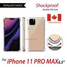 For iPhone 11 pro max Case Shockproof Protective Clear TPU Cover iphone pro max