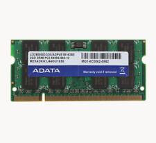 ADATA 2GB Lot DDR2 800Mhz PC2-6400S 800 2RX8 SODIMM 200PIN Laptop Memory RAM @N