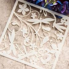 1PC Flower Stencil Scrapbooking Cuttin Dies DIY Paper Card Diary Furniture Craft