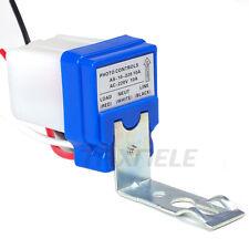 Automatic On Off Photo Switch Auto Photocell Street Light Photosensor Switch 10a