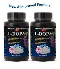 Dopamine agonis - L-DOPA - Testo & Energy booster - Mental clarity - 2 Bottles
