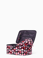 NEW NWT Kate Spade Large Colin Daycation Mini Pastries Travel  2PC  Cosmetic Bag