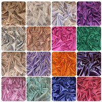 Anti Static 100% Polyester Shiny Lining Fabric Dress Coat Jacket 150cm Wide