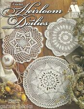 Heirloom Doilies Souli Williams Crochet Pattern Book Annie's Attic 870817 NEW