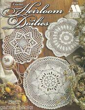 Heirloom Doilies Souli Williams Crochet Pattern Book Annie's Attic 870817 NEW