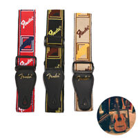 Adjustable Guitar Accessories Guitar Strap Leather Ends For Electric AcousTEU