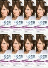 8 x CLAIROL Nice'n Easy Non Permanent 755 LIGHT BROWN~ (No Ammonia/Peroxide/PPD)