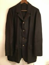 NWOT Kiton Napoli brown 4-button cashmere blazer jacket (size: 52/L)