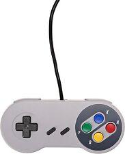 2 x Snes USB Classic Famicom Controller Joypad For PC/MAC Super Nintendo Games