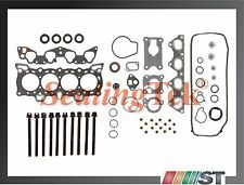 88-95 Honda D15B D16A6 Cylinder Head Gasket Set + Bolts Kit non-Vtec SOHC engine