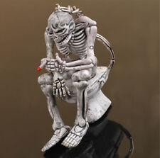 ONE Creative skull Toilet Purse Bag Rubber KeyChain Keyring Gift Key Chain HS66