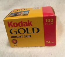 Kodak Gold 100 - 1 Sealed Unit - 35mm 24 Exposures - Expired - New in Box
