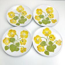 "Noritake Progression ~ SET of 4 ~ FLOWER TIME  Dinner Plates  10.5"""