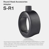 Round Head Accessories Adapter S-R1 for Camera Flash AD200 V860II TT685 TT600