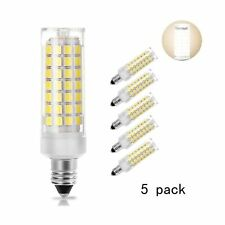 [5-Pack] E11 led Bulb, 75W or 100W Equivalent Halogen Replacement Lights, Dim...