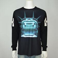 NWT HUDSON OUTERWEAR NYC Liberty Black Long Sleeve T-Shirt Tee Sz 3XL