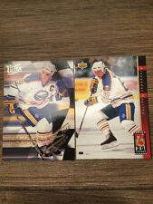 Alexander Mogilny Two Card Insert Lot UD Hat Tricks + Ultra Speed Merchants