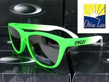 OAKLEY FROGSKINS 9013 99 GREEN FADE PRIZM DAILY OLIMPIC Sunglass Occhiali Sole